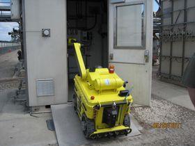 En versjon av denne inspeksjonsroboten skal etter planen brukes på Kashagan-feltet i Det kaspiske hav.