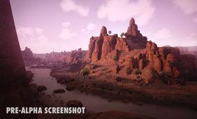 Spillerebegynner i ørkenen, men Conan Exiles byr også på annen natur.