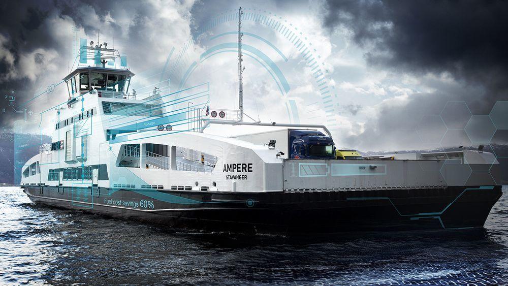 Enova ga 700 millioner til maritime prosjekter