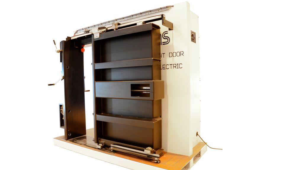 Vanntett skyvedør fra IMS Technologies