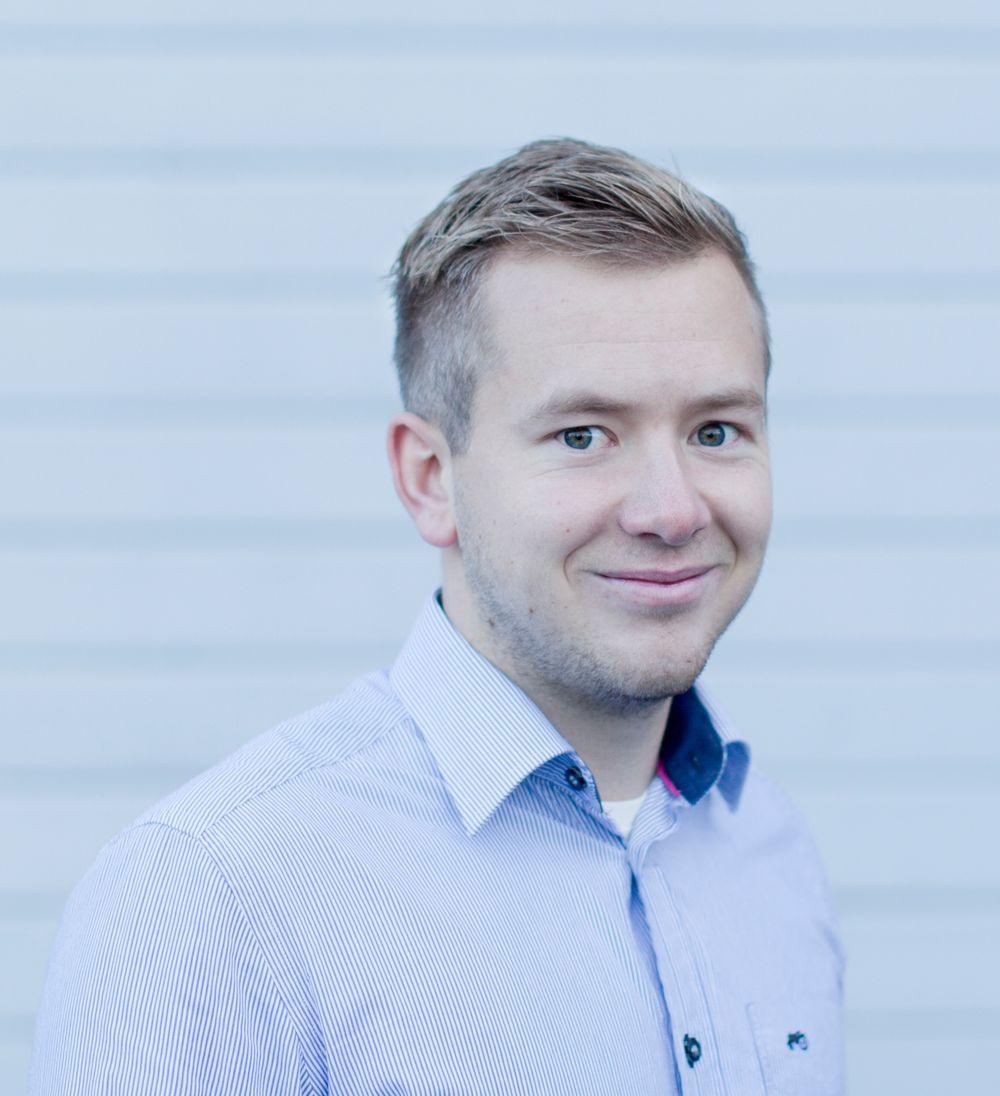 Morten André Arvesen, salgsingeniør Matek Samson