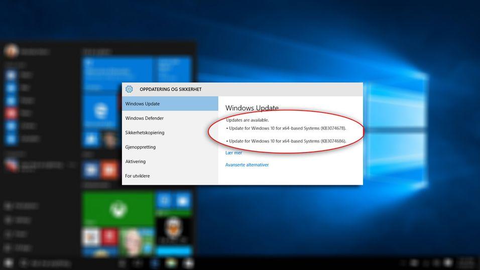 Microsoft vil svært gjerne at du oppdaterer Windows 10, men hva gjør oppdateringene egentlig?