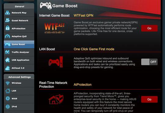 Innebygget støtte for WTFast GPN kan gi deg bedre ping og mer stabil forbindelse mot spillservere.