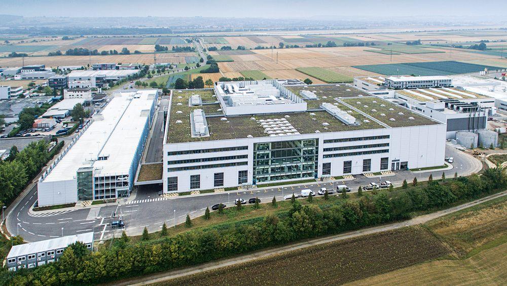 Festo, Technologiefabrik, Scharnhausen utenfor Stuttgart. Åpnet september 2015