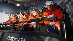 VR-overføring fra Ungdoms-OL i Lillehammer