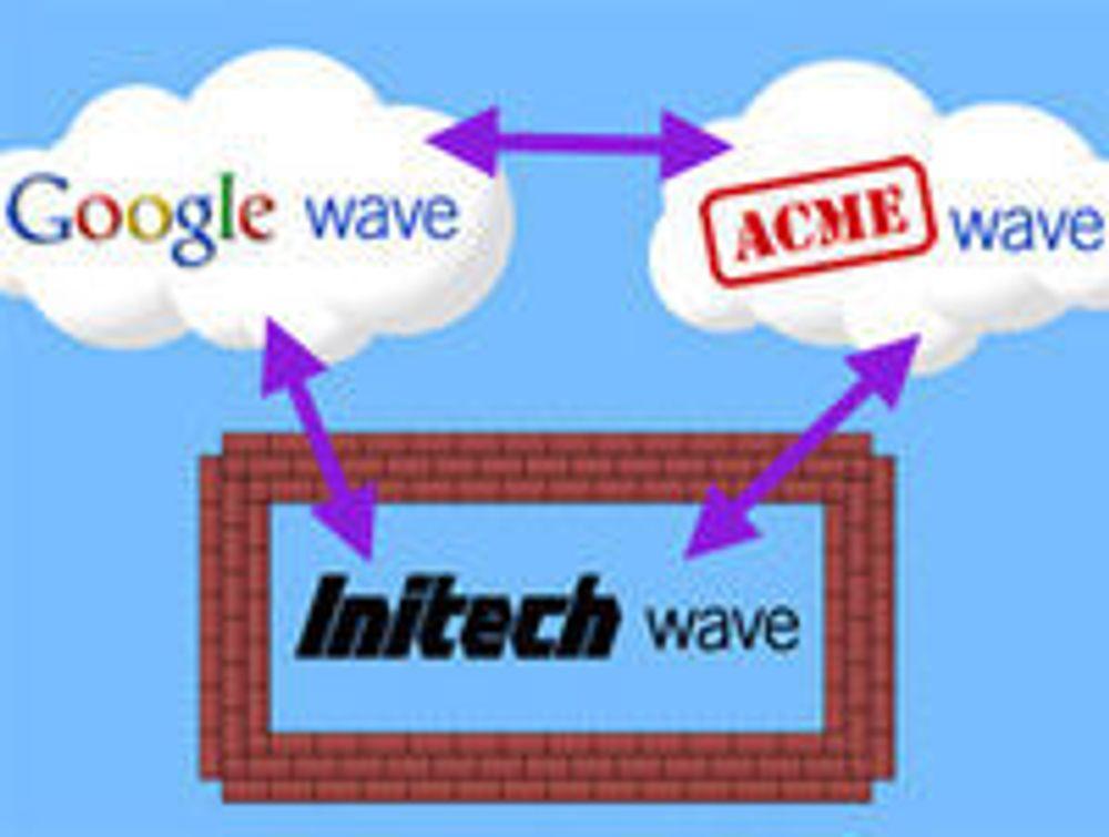 Åpner Google Wave for eksterne «bølger»