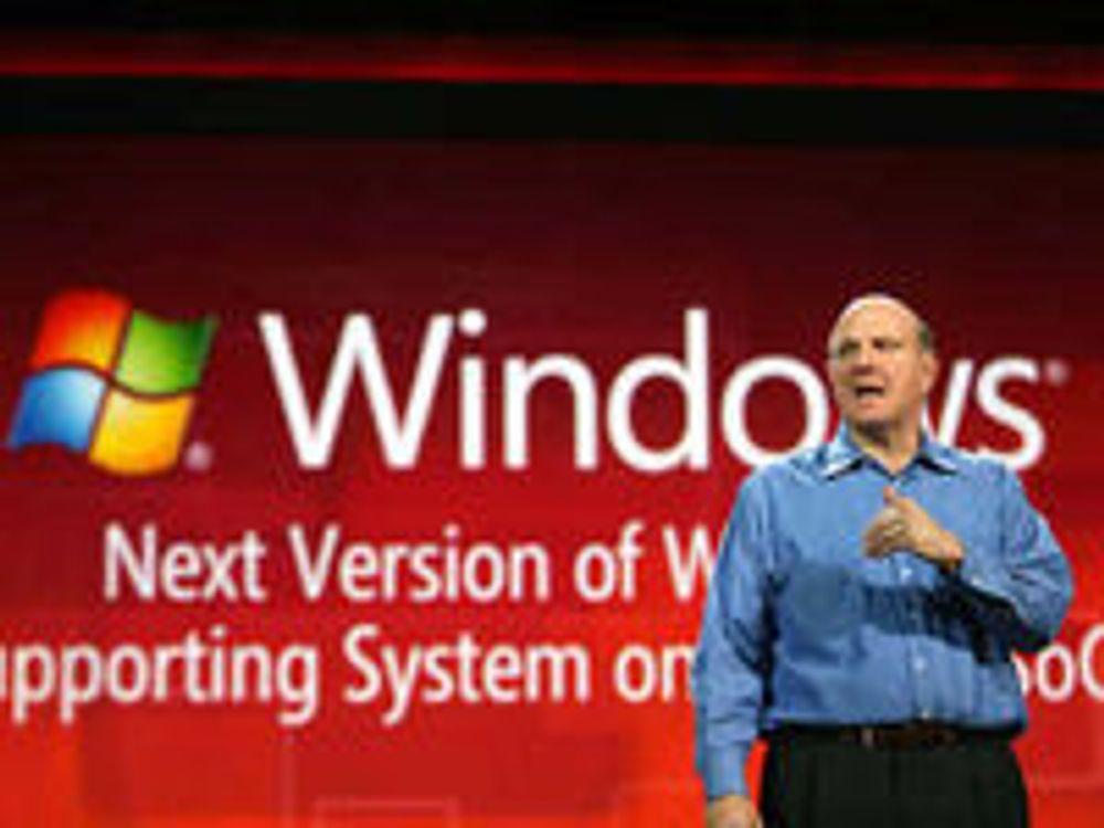 Steve Ballmer kunngjør at neste versjon av Windows vil støtte SoC-er basert på blant annet ARM-arkitekturen.