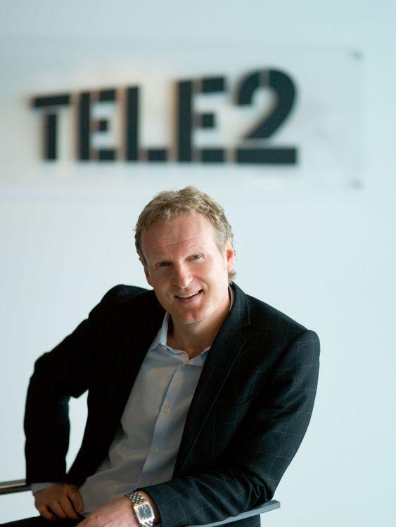Administrerende direktør Haakon Dyrnes i Tele2 Norge.