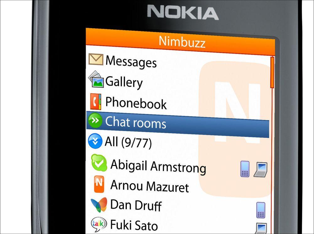 Erstatter SMS med lynmeldinger på mobilen