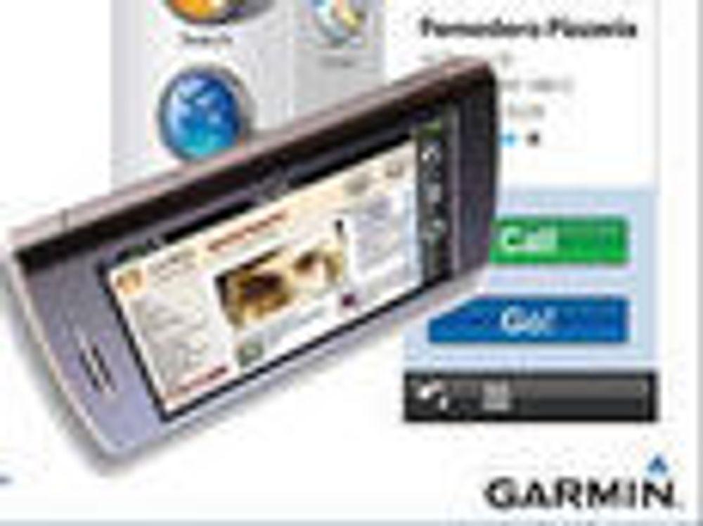 Garmin-kunngjøring om kommende, Android-basert Nüvifone.