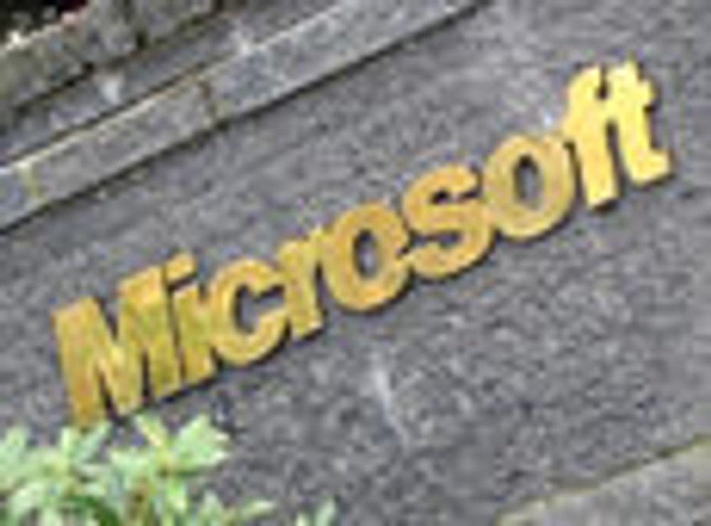 Sterke tall fra Microsoft
