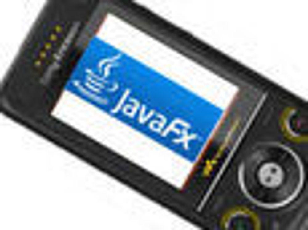 JavaFX skal utfordre Flash på mobilen