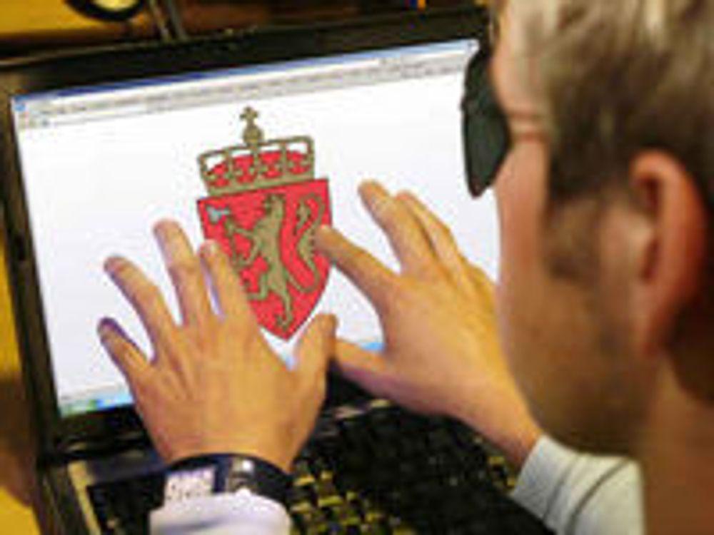 Norske nettjenester blåser i svaksynte