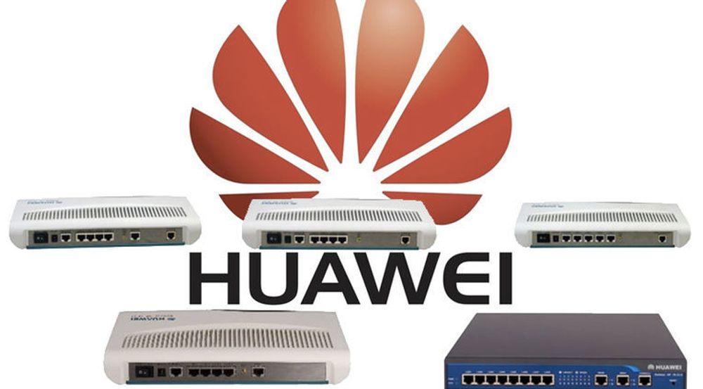 Huaweis AR18-serie med bredbåndsrutere er blant produktene som skal ha programvare med en sikkerhetskvalitet hentet fra 1990-tallet.