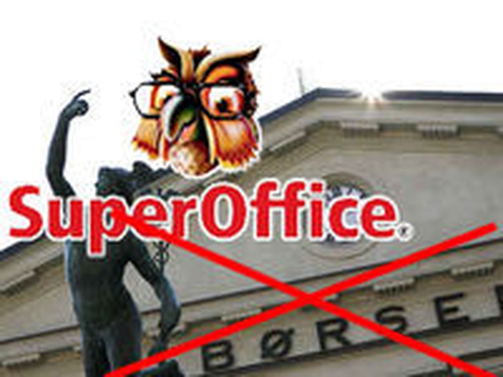 SuperOffice tas av børs
