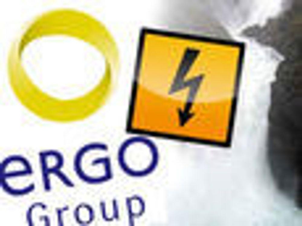 Ergogroup sender strømforbruket rett i elva