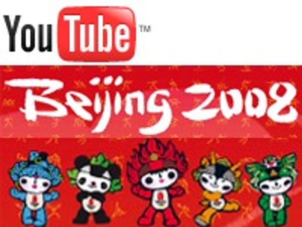 Tekkes ungdom ved å sende OL på Youtube