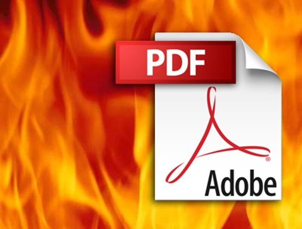 Ekstremt kritisk sårbarhet i PDF-leser