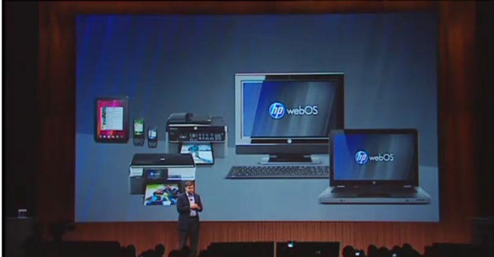 HP vil levere WebOS sammen med både smartmobiler, nettbrett, skrivere og pc-er.
