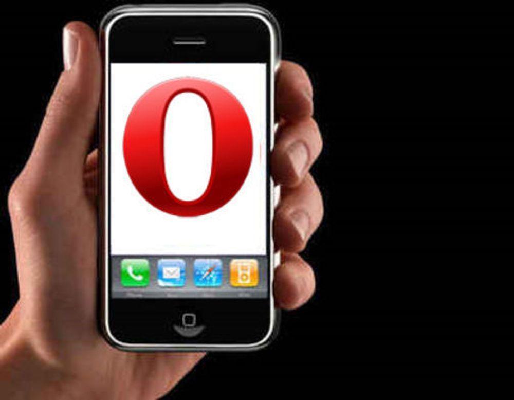 Apple sa JA til Opera