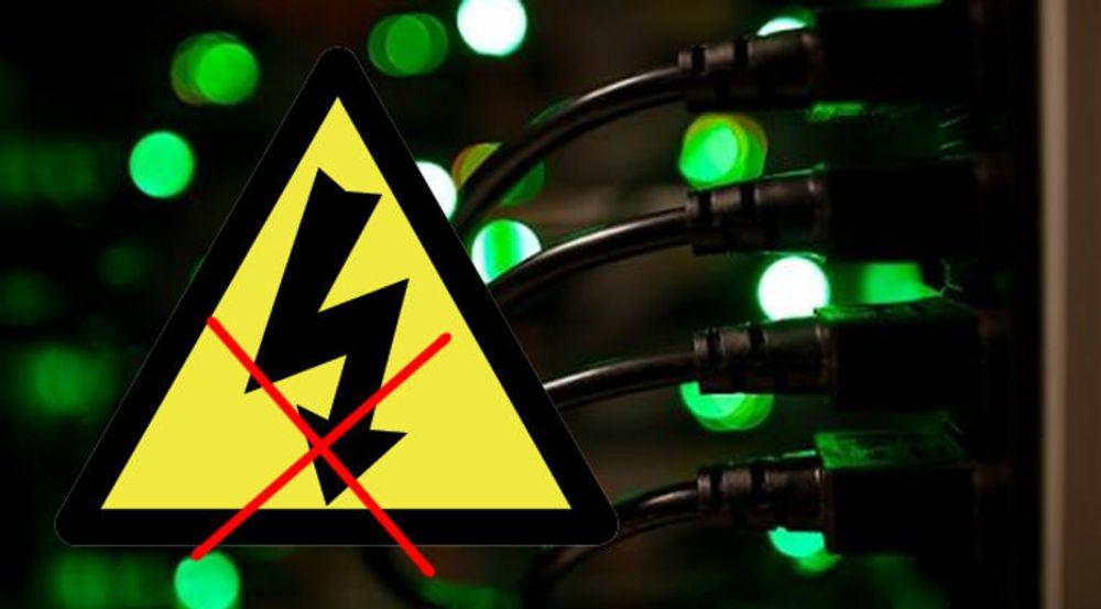 Strømbrudd for Broadnet