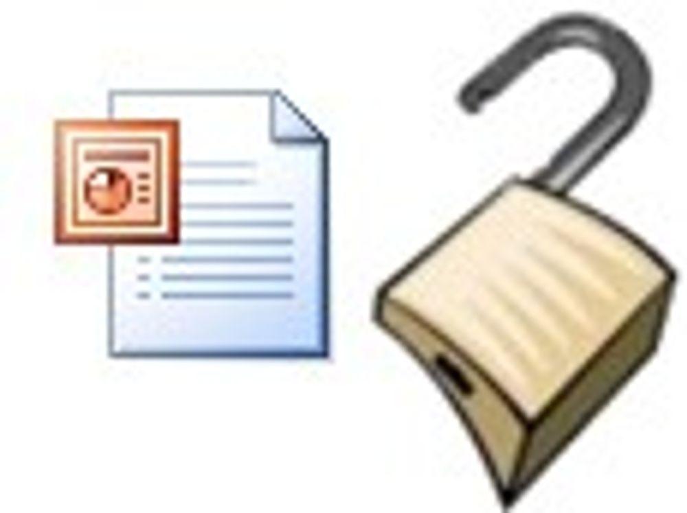 Skal fjerne Powerpoint-sårbarhet under angrep