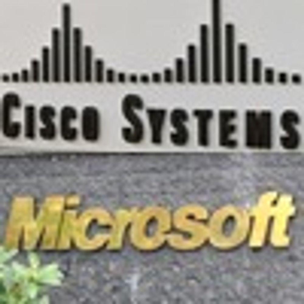 Cisco og Microsoft i tettere samarbeid