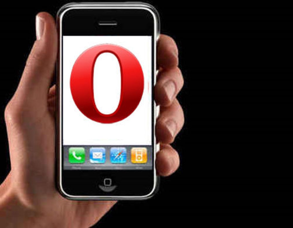 Opera klar for iPhone