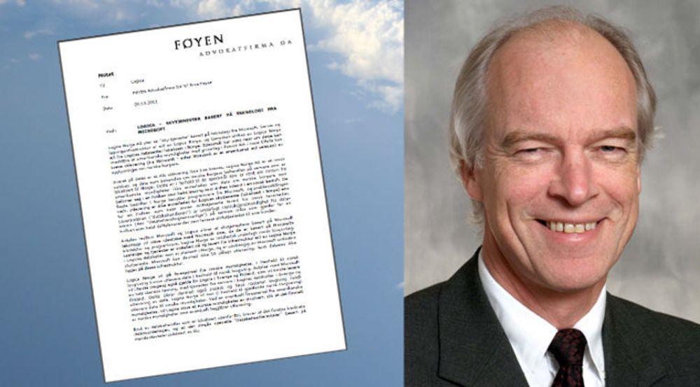 I et to siders notat forklarer advokat Arve Føyen hvorfor Logicas løsning for Office 365 er immun mot datautlevering til USA under Patriot Act. Se lenke nederst i artikkelen.