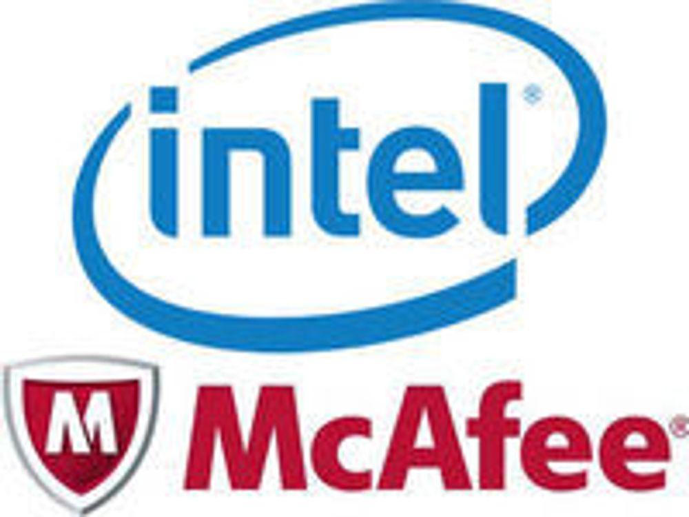 Intel kjøper McAfee