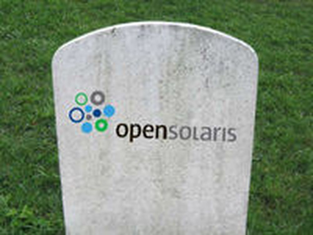 Oracle avliver OpenSolaris