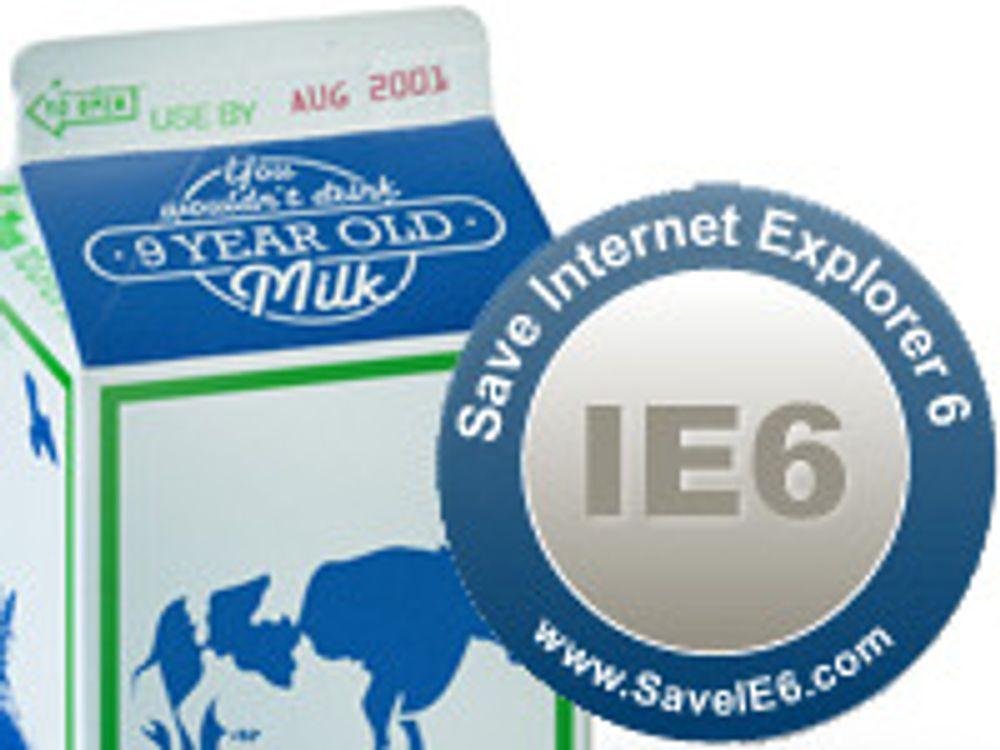 For dyrt å oppgradere IE6