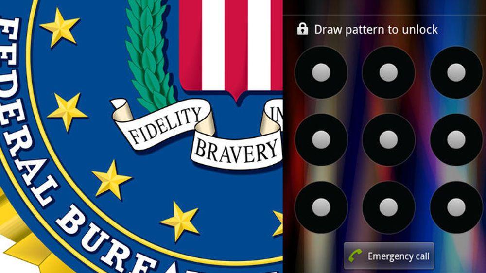 Den mønsterbaserte skjermlåsen på Android-baserte mobiler skaper problemer for FBI.