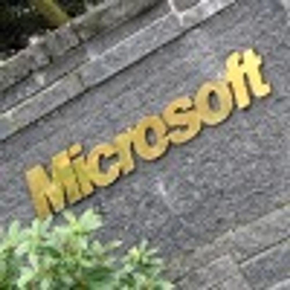 Microsoft leverer med tosifret vekst
