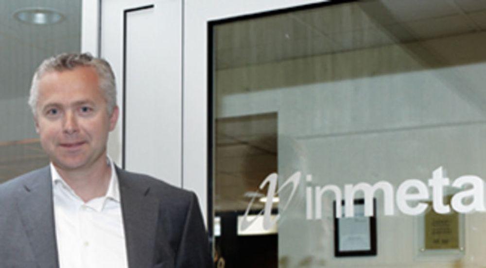 Jarl Øverby, toppsjef i Inmeta Crayon, sikrer seg dansk konkurrenter når de tar over A Gain. Salgssummen for de 40 ansatte i den danske lisensaktøren er ikke kjent.