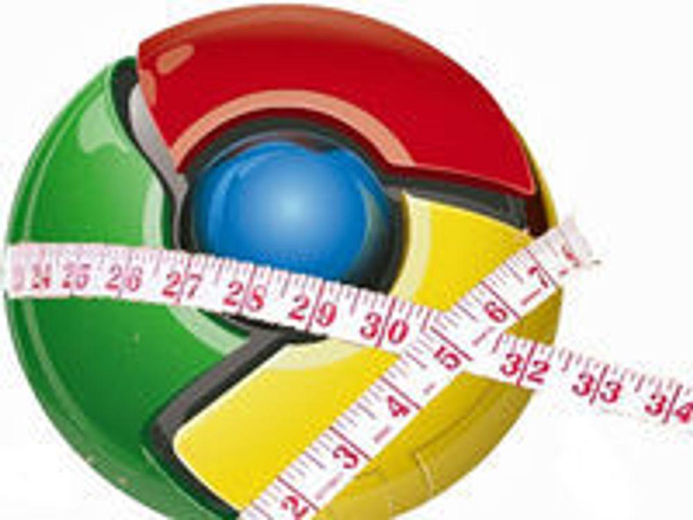 Skal sette Chrome på slankekur