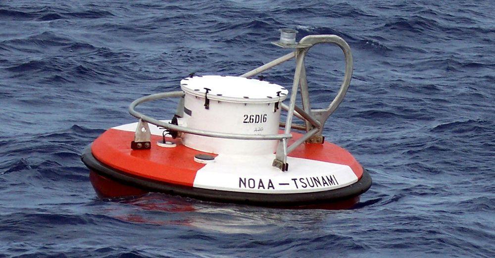 Denne bøyen inngår i det internasjonale tsunamivarslingssystemet DART som reddet mange liv i Japan. Det er nå påkrevd med ytterligere innsats for å bedre DART, mener analyseselskapet Gartner.