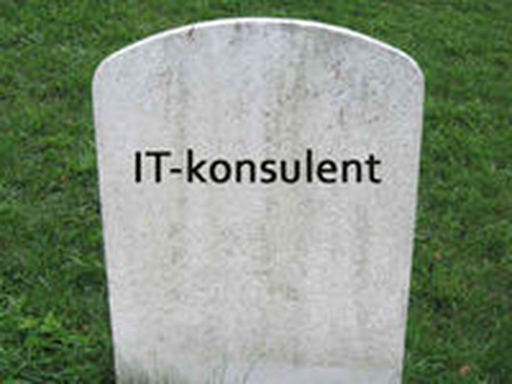 Konkurskø for IT-konsulenter