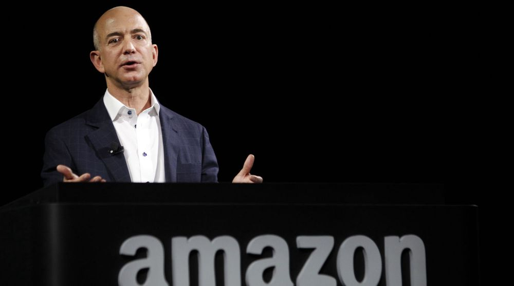 Amazon-sjef Jeff Bezos leverte et uventet stort underskudd.