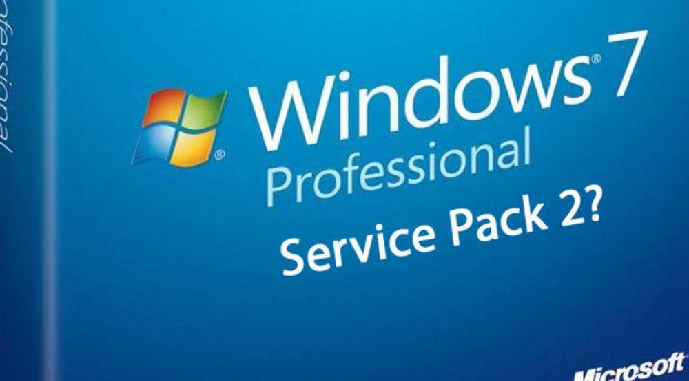 Det er foreløpig ingenting som tyder på at det vil komme noen ny servicepakke til Windows 7.