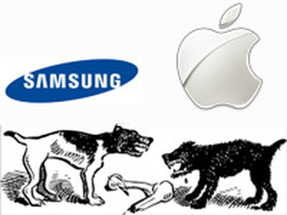 Apple felte Samsung i Nederland