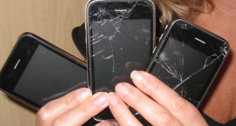If skadeforsikring melder om flere ødelagte iPhone enn alle andre mobilmerker til sammen. (Foto: If)