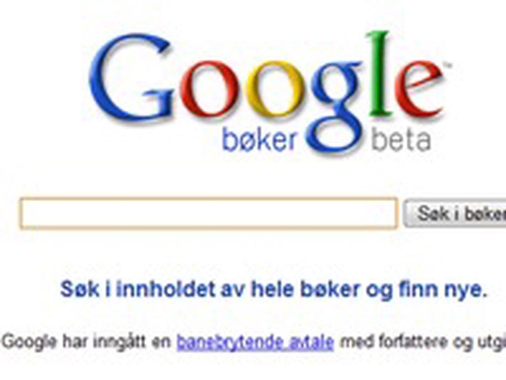 Bråbrems for Googles bokavtale