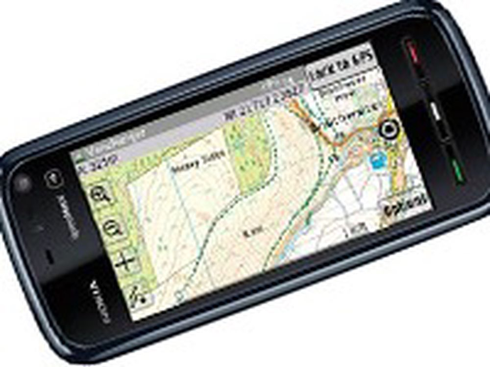 Gjør mobilen til frilufts-GPS