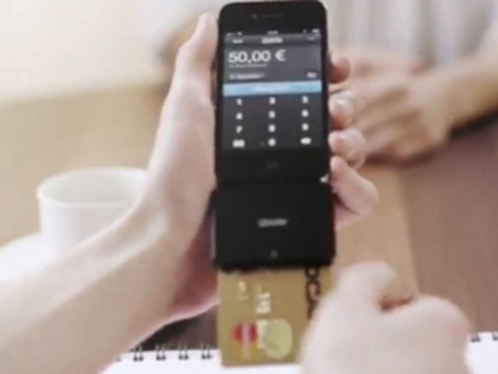 Gjør iPhone til betalingsterminal