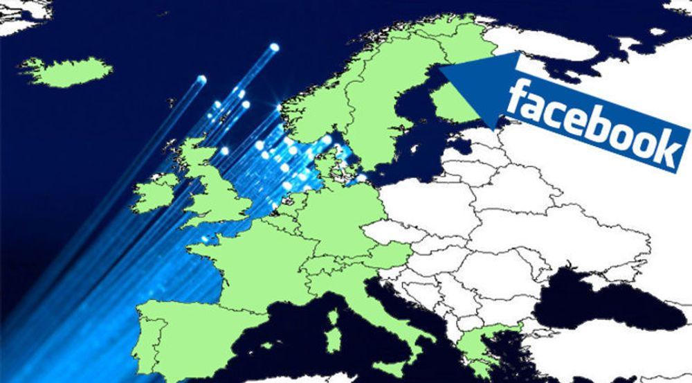 TeliaSonera skal bygge og drifte et optisk nettverk som skal sikre alle Facebook-brukere i Europa lynrask forbindelse til den nye datasentralen i Luleå.