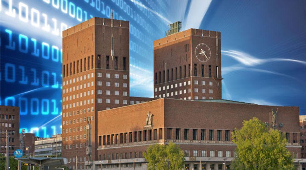Sent, men godt? Mens Stockholm kan vise til 70 digitale innbyggertjenester, og København tilbyr over 50 heldigitale tilbud, er Oslo kommune foreløpig en IT-sinke uten noen tilsvarende tilbud. Nå går imidlertid et samlet bystyre i gang med å gjøre noe.