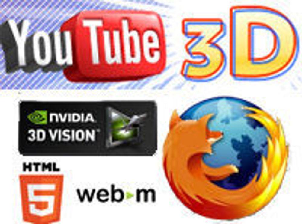 Lanserer HTML5-video i 3D