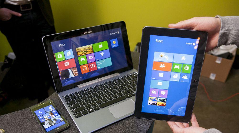 PC-produsentene har lansert en rekke Windows 8 baserte produkter, men etterspørselen hos kundene har vært heller laber, skal vi tro amerikanske tall.