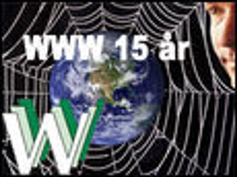 World Wide Web fyller 15 år